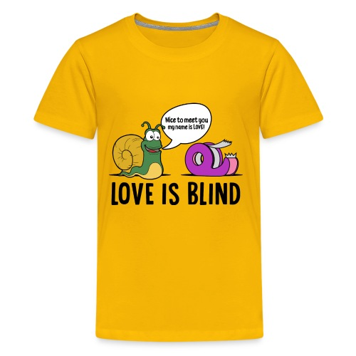 Love is blind design - Kids' Premium T-Shirt