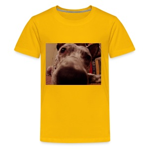 nosy puppy - Kids' Premium T-Shirt