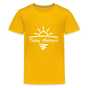 Today Matters Logo White - Kids' Premium T-Shirt