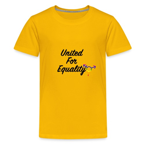 United For Equality Logo - Kids' Premium T-Shirt