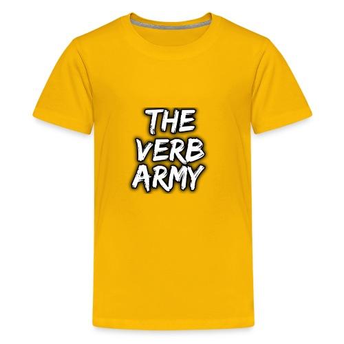 The Verb Army - Kids' Premium T-Shirt