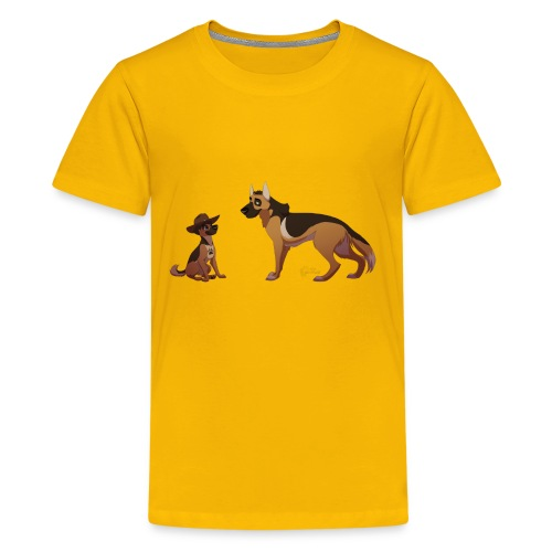 police dog - Kids' Premium T-Shirt