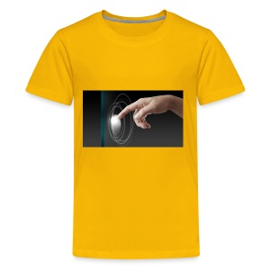 hand working on modern technology G1L0zcHd - Kids' Premium T-Shirt