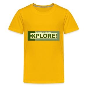 Explore Logo - Kids' Premium T-Shirt