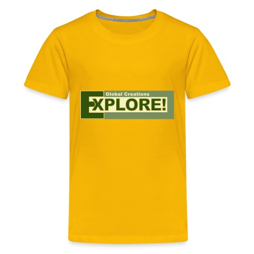 Explore Logo - Kids' Premium T-Shirt