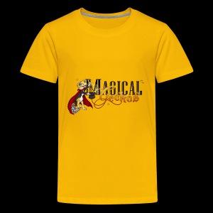 Gecko Magician - Kids' Premium T-Shirt