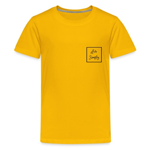 Live Simply - Kids' Premium T-Shirt