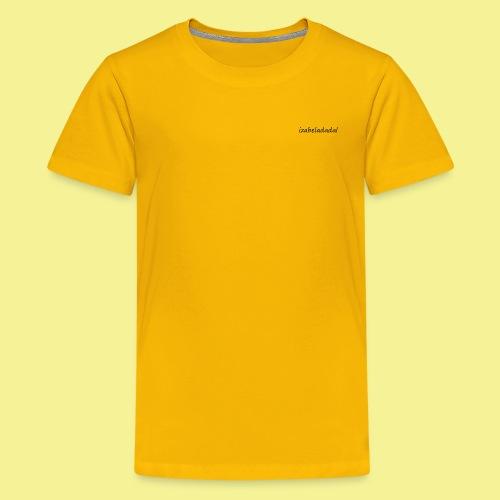 izabeladadal logo merch - Kids' Premium T-Shirt