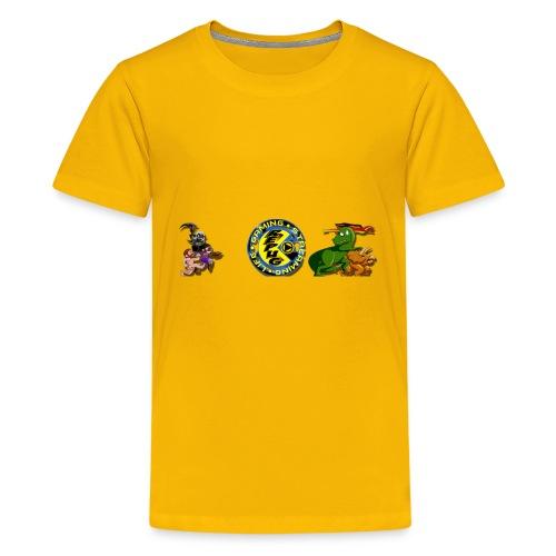 Pug Pac Attack! - Kids' Premium T-Shirt