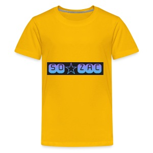 So zac - Kids' Premium T-Shirt