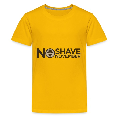 No shave November - Kids' Premium T-Shirt