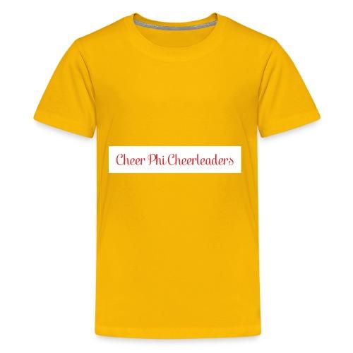Cheer Phi Cheerleaders - Kids' Premium T-Shirt