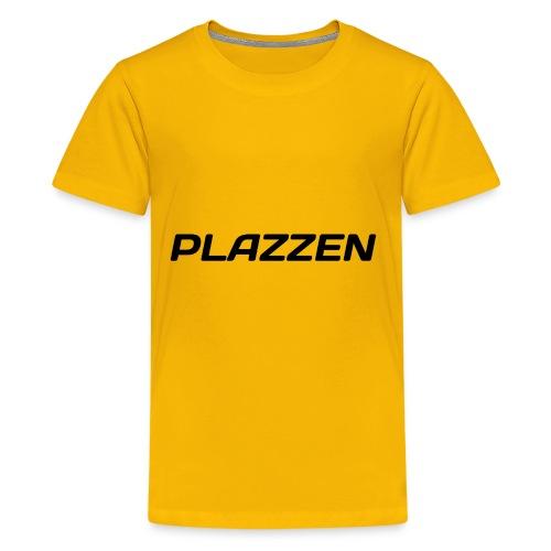 Plazzen Logo - Kids' Premium T-Shirt