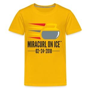 Miracurl On Ice Celebration! - Kids' Premium T-Shirt