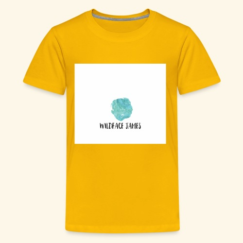 Wildface water color - Kids' Premium T-Shirt