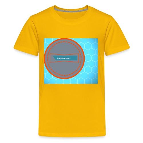 Azaan savage merch - Kids' Premium T-Shirt