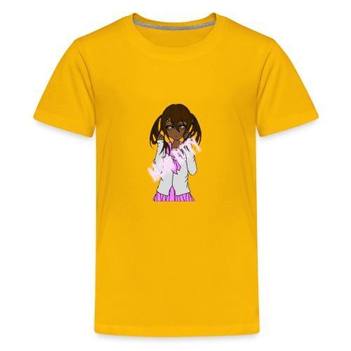 Alien Kitty's Attire - Kids' Premium T-Shirt