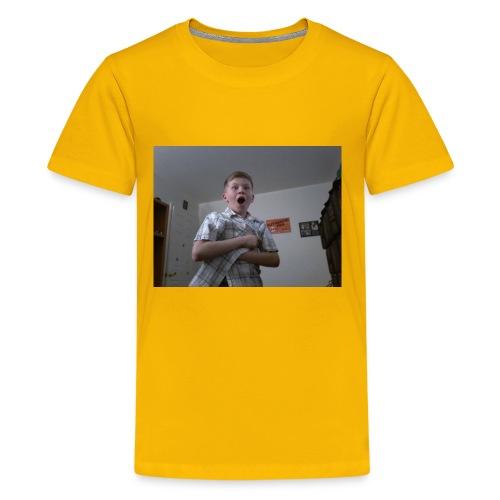 Xavier bongo hoodie/ wow - Kids' Premium T-Shirt