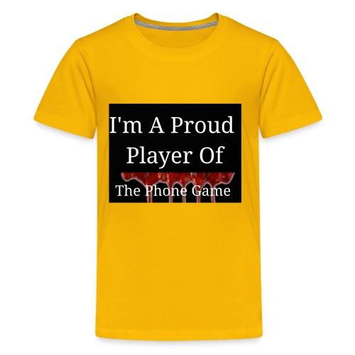 The Phone Game Proud Player - Kids' Premium T-Shirt