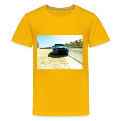 The car - Kids' Premium T-Shirt