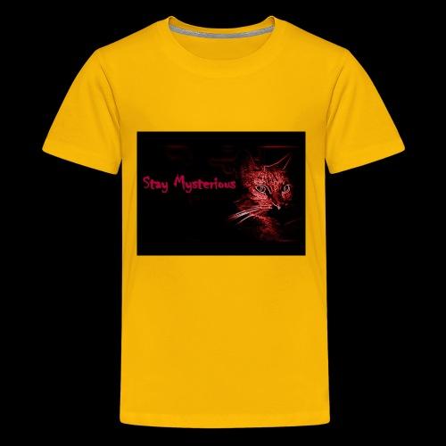 Stay Mysterious - Kids' Premium T-Shirt