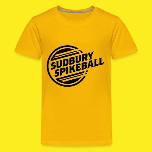 Sudbury Spikeball - Kids' Premium T-Shirt