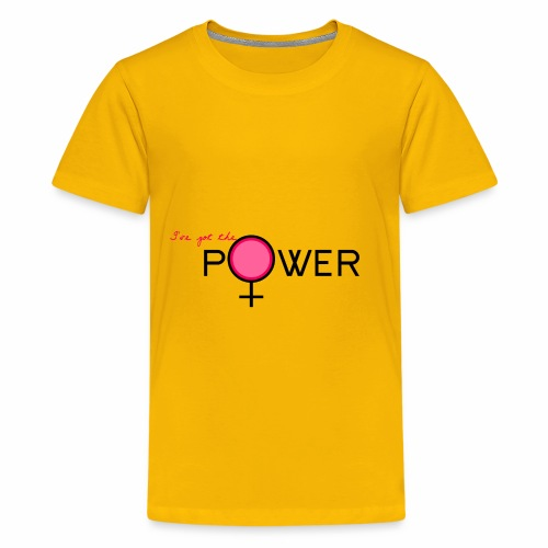 Girl power pink - Kids' Premium T-Shirt
