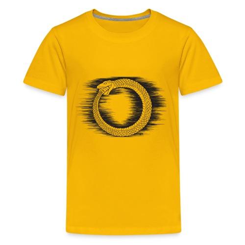Ouroboros Revolutionary Symbol by KPC Studios - Kids' Premium T-Shirt