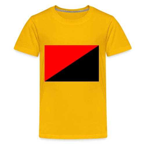red and black - Kids' Premium T-Shirt