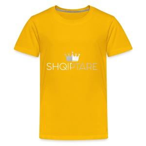 shqiptare white proud albanian queen shirt - Kids' Premium T-Shirt