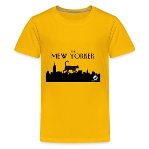 The Mew Yorker - Kids' Premium T-Shirt