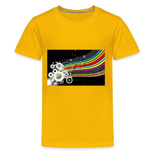 scrapbook desktop wallpaper cool designs design - Kids' Premium T-Shirt