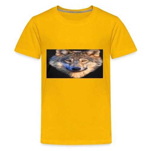 wolf merch - Kids' Premium T-Shirt