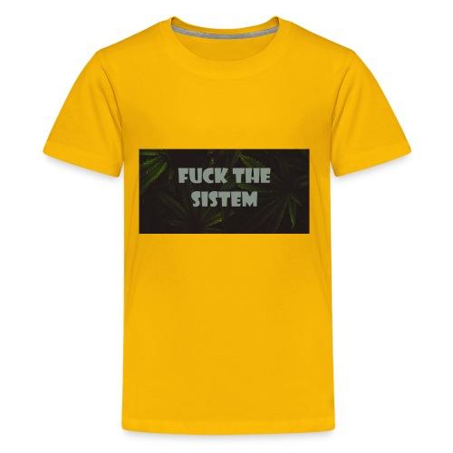 Fuck the sistem - Kids' Premium T-Shirt
