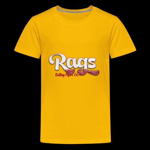 RAGSROLLINGLOGORED - Kids' Premium T-Shirt