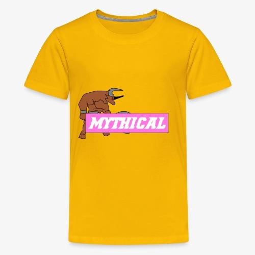 Mythical Logo Design - Kids' Premium T-Shirt