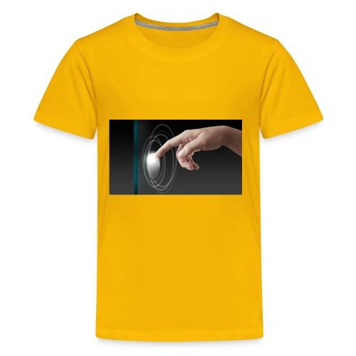 hand working on modern technology G1L0zcHd - Kids' Premium T-Shirt