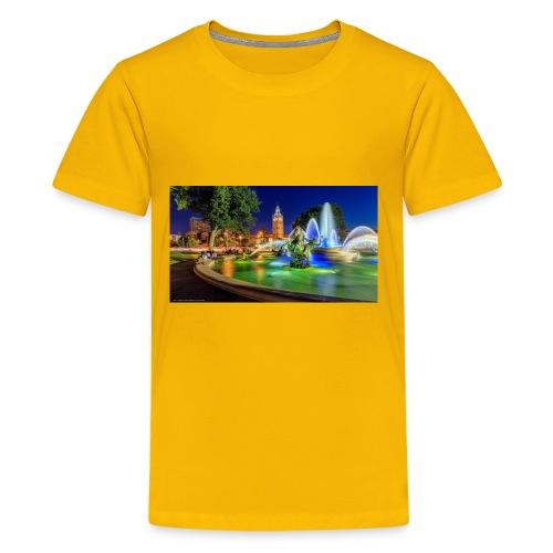 617816 jc nichols memorial fountain country club p - Kids' Premium T-Shirt