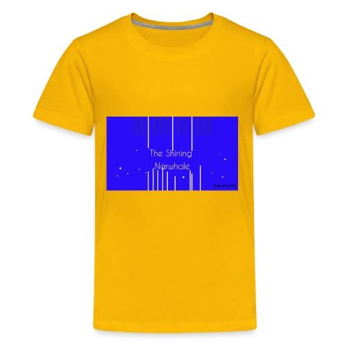 Shining Narwhale - Kids' Premium T-Shirt