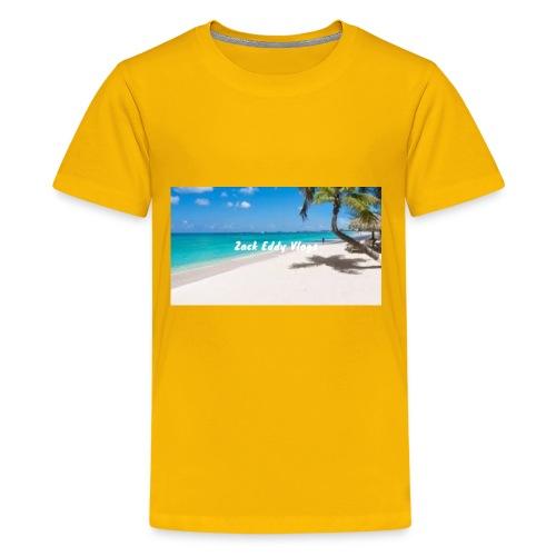 ZACK EDDY VLOGS - Kids' Premium T-Shirt