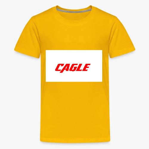 simple cagle merch - Kids' Premium T-Shirt