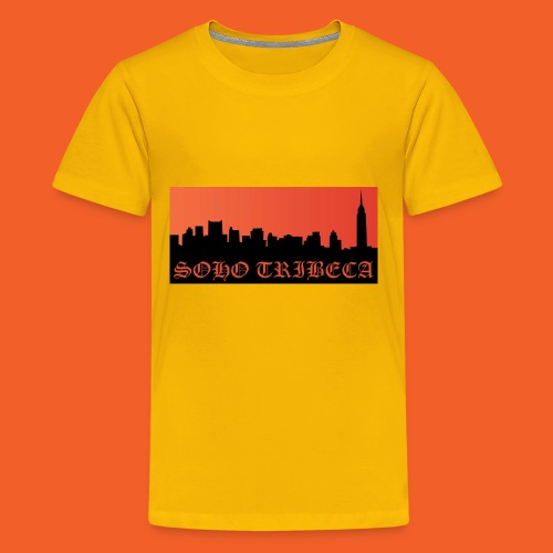 Soho Tribeca NYC Skyline - Kids' Premium T-Shirt