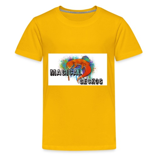 Magical Geckos Logo - Kids' Premium T-Shirt