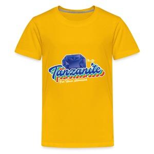 Tanzanite Birthstone Gem - Kids' Premium T-Shirt