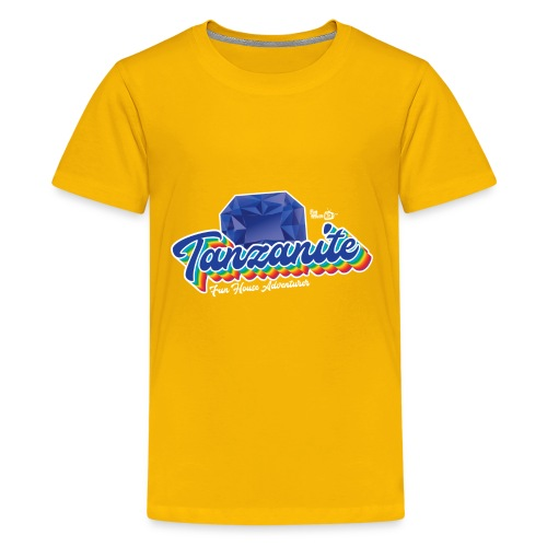 Tanzanite Birthstone Gem - Kids' Premium T-Shirt