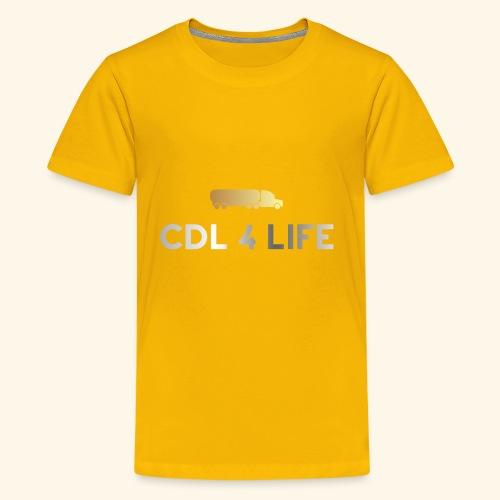 Classy logo design - Kids' Premium T-Shirt