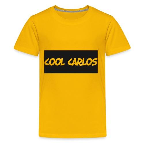 COOL CARLOS LOGO SHIRT - Kids' Premium T-Shirt