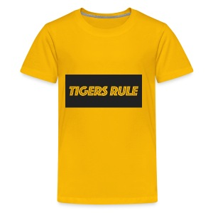 TIGERS RULE - Kids' Premium T-Shirt
