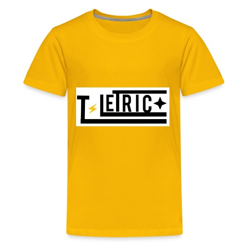 T-LETRIC Box logo merchandise - Kids' Premium T-Shirt
