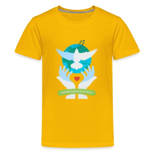 Day of Peace - Kids' Premium T-Shirt